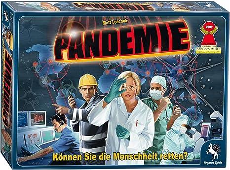 Pegasus Spiele 51325G Pandemie - Juego de mesa: Leacock, Matt ...
