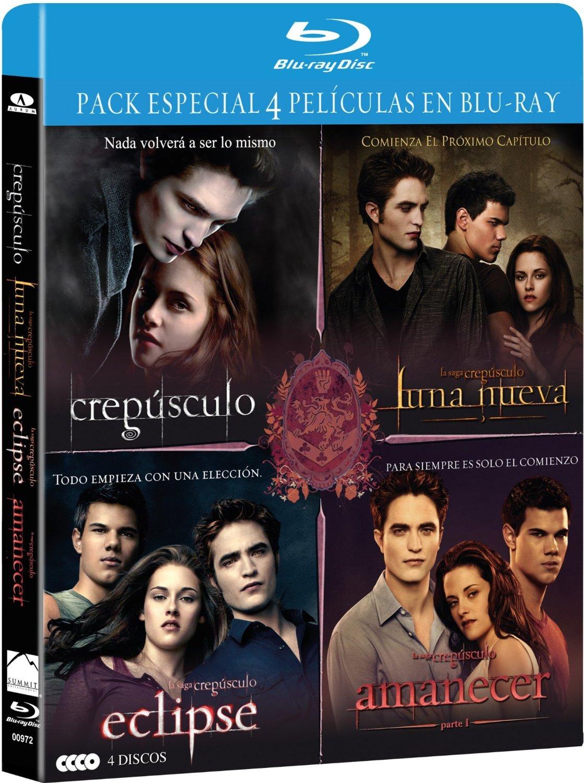 Pack Saga Crepusculo 1 - 4 (Bd) [Blu-ray]: Amazon.es: Stewart ...