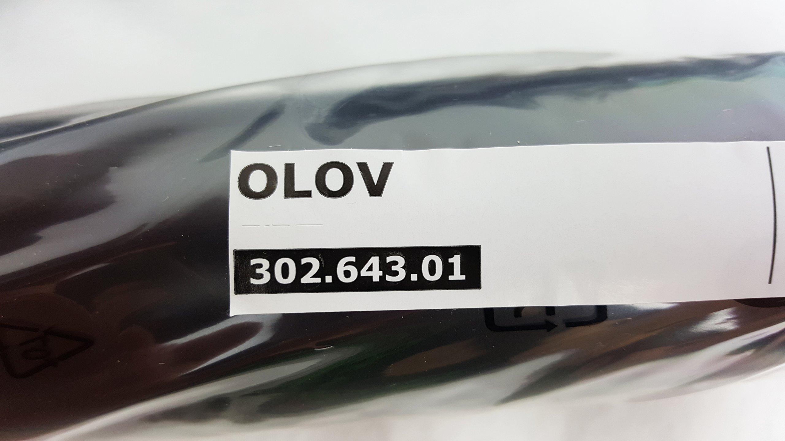 IKEA OLOV Adjustable Metal Table Legs - Steel, Black [Set of 4]