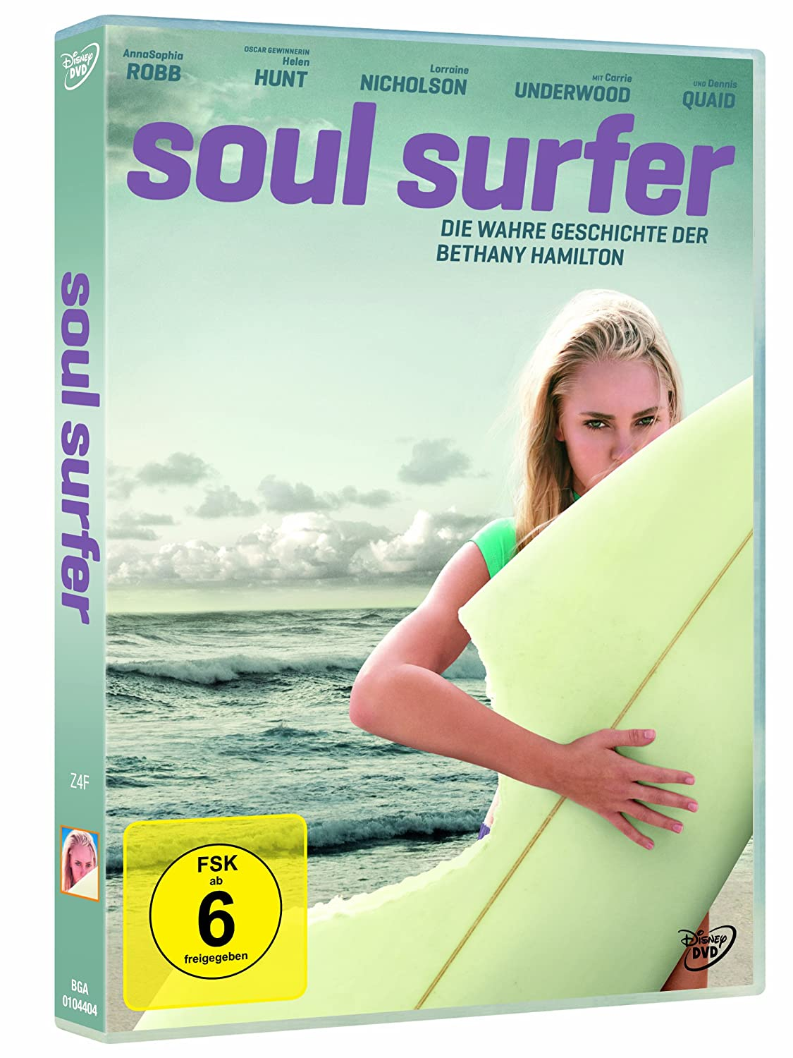 Amazon.com: soul surfer dvd Italian Import: sonya balmores, david chokachi,  sean mcnamara: Movies & TV