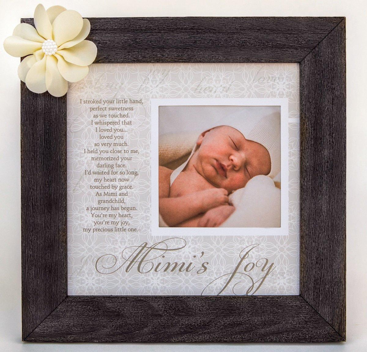 Amazoncom Mimis Joy Picture Frame With Poetry Barnwood 8 X 8