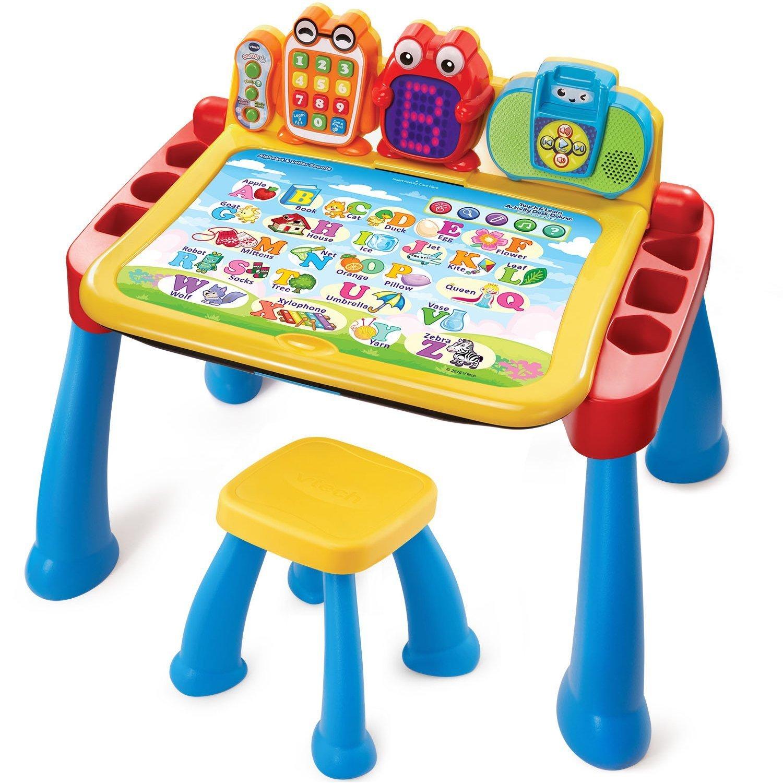完璧 VTech Touch and Learn Activity Activity Desk and Deluxe [並行輸入品] Desk B01N1VS2HY, ワインセラーパリ16区:ccfd9a76 --- mrplusfm.net