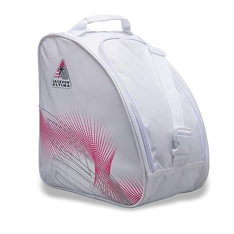 Jackson grande bolsa para patines sobre hielo, color blanco/rosa