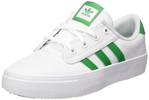 check out dc8a6 f2acb Adidas Kiel, Zapatillas de Deporte Unisex Adulto, Blanco VerdeFtwbla 000,  45 13 EU Amazon.es Zapatos y complementos