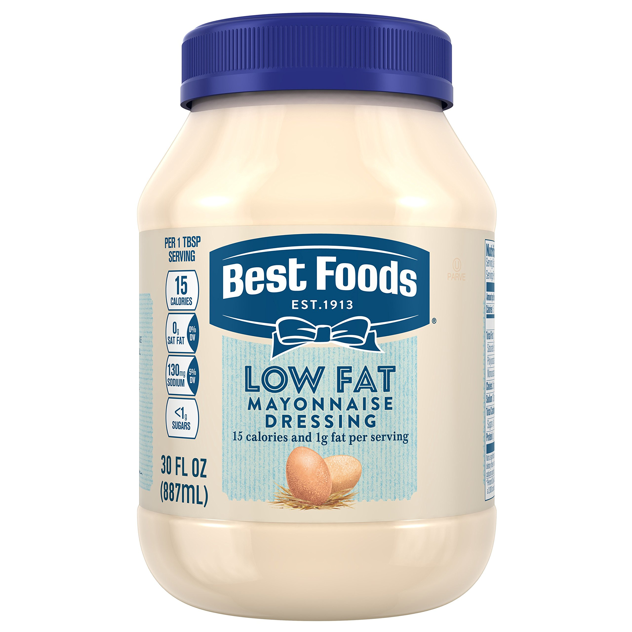 Best Foods Mayonnaise Dressing, Low Fat, 30 oz
