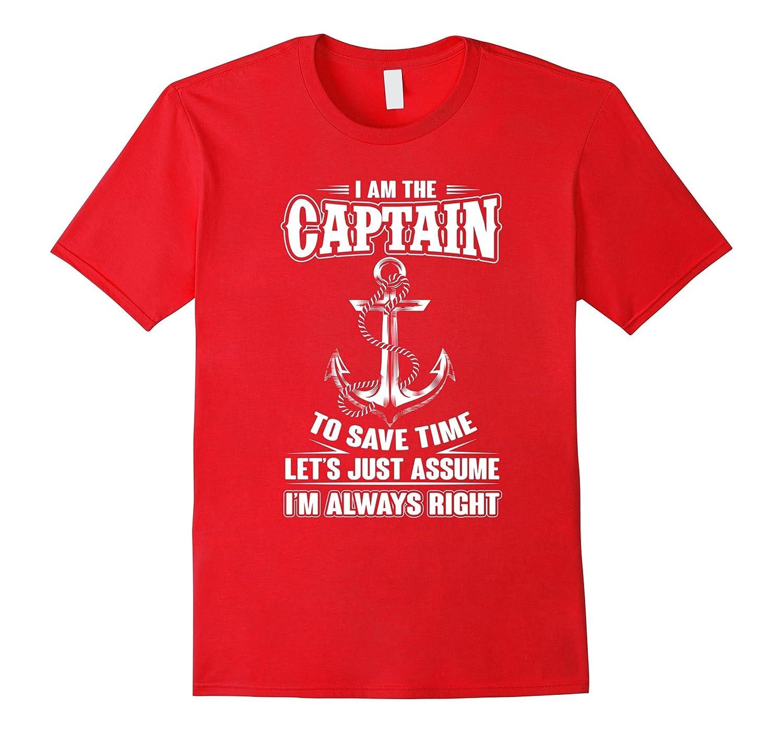 Am Captain T shirt Large Royal-Tovacu