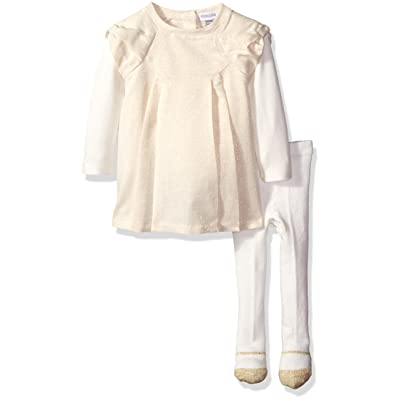 absorba Baby Girls' Dress and Tight Set