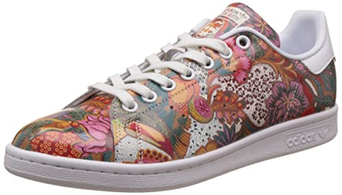 e7213800cc3bb9 ... san francisco adidas Originals Women s Stan Smith W Ftwwht and Owhite  Sneakers - 8 UK ...