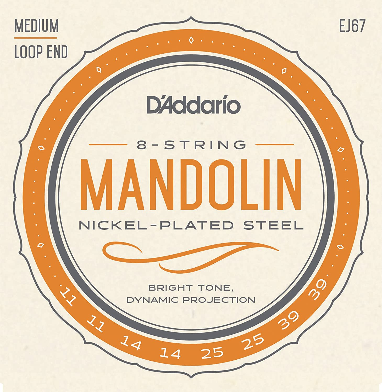 D'Addario EJ67 Nickel Mandolin Strings D'Addario