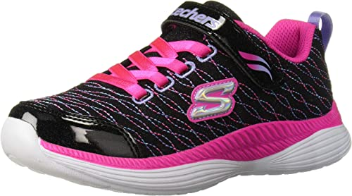 Skechers Move N Groove Sparkle Spinner Silver Kids