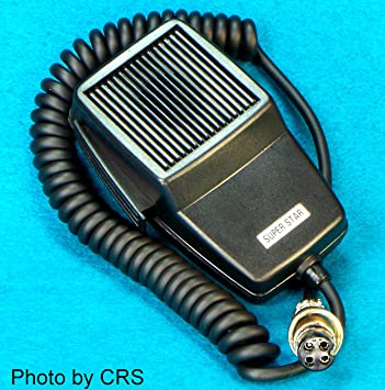 Replacement stock MIC/Microphone for 4 pin Cobra CB Radio - Workman DM507-4
