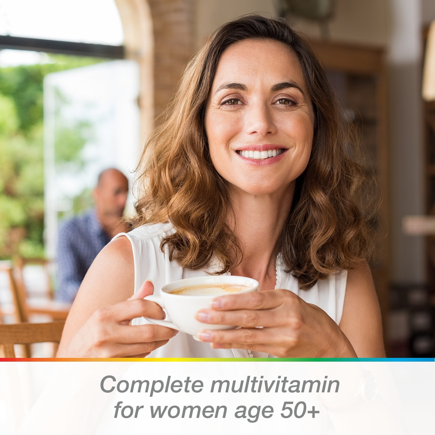 Centrum Silver Women (200 Count) Multivitamin / Multimineral Supplement Tablet, Vitamin D3, Age 50+ by Centrum (Image #2)