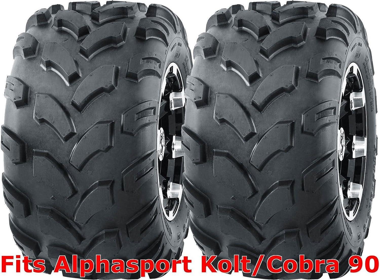 2 WANDA ATV tires 18x9.5-8 18x9.5x8 Alphasport Kolt//Cobra 90 rear P311
