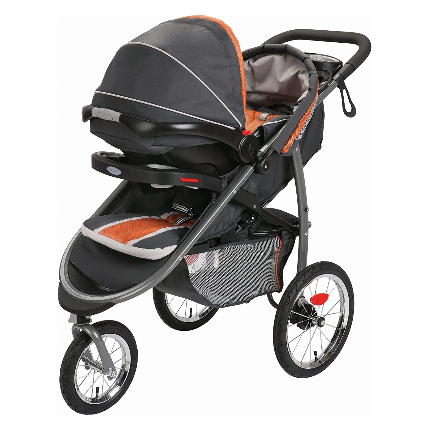 Amazon Graco Fastaction Fold Jogger Connect Stroller Gotham e Size Baby