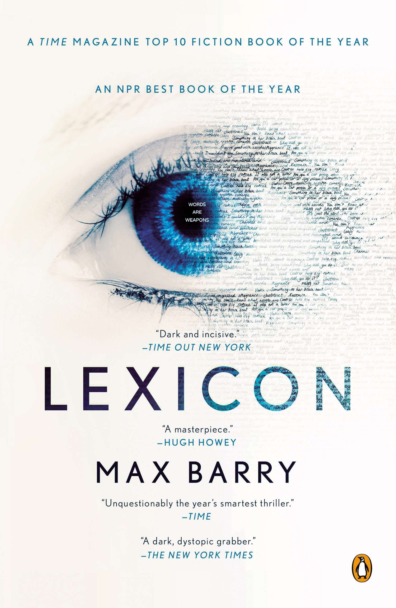 Image result for lexicon max barry