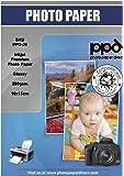 "PPD Inkjet Fotopapier glänzend ""Super Premium"", 10 x 15 cm, 280g/m², 100 Blatt"