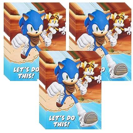 Amazon Sonic Boom Party Invitations