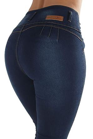 3e4f888e5e1 Colombian Design Butt Lift High Waist Plus Junior Size Skinny Jeans ...