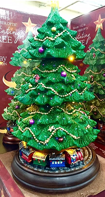 Rotating Fibre Optic Christmas Tree Amazon Co Uk Kitchen Home - Fibre Optic Christmas Tree Uk Only