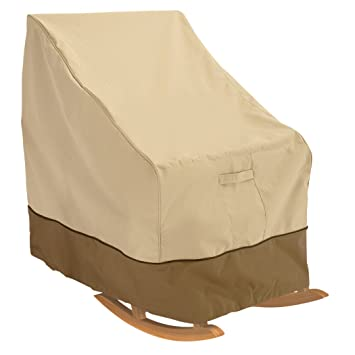 Amazing Classic Accessories Veranda Patio Rocking Chair Cover   Durable And Water  Resistant Outdoor Furniture Cover,