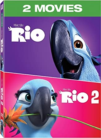 Amazon rio 2 movie collection dvd import dvd rio 2 movie collection dvd import voltagebd Images