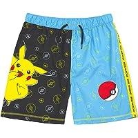 Pokémon Swim Shorts Boys Pikachu Swimming Pants Trunks Kids & Teens