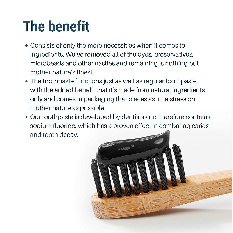 Amazon.com: Pasta dental de fluoruro natural (2 unidades ...