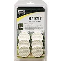 IZZO Golf Flatball Swing Golf Training Aid