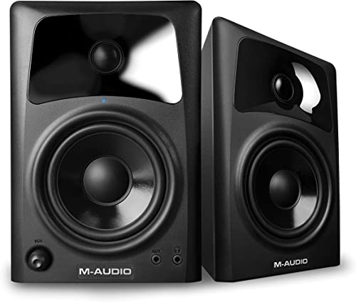 M-Audio AV42 Compact Active Desktop Reference Monitor Speakers
