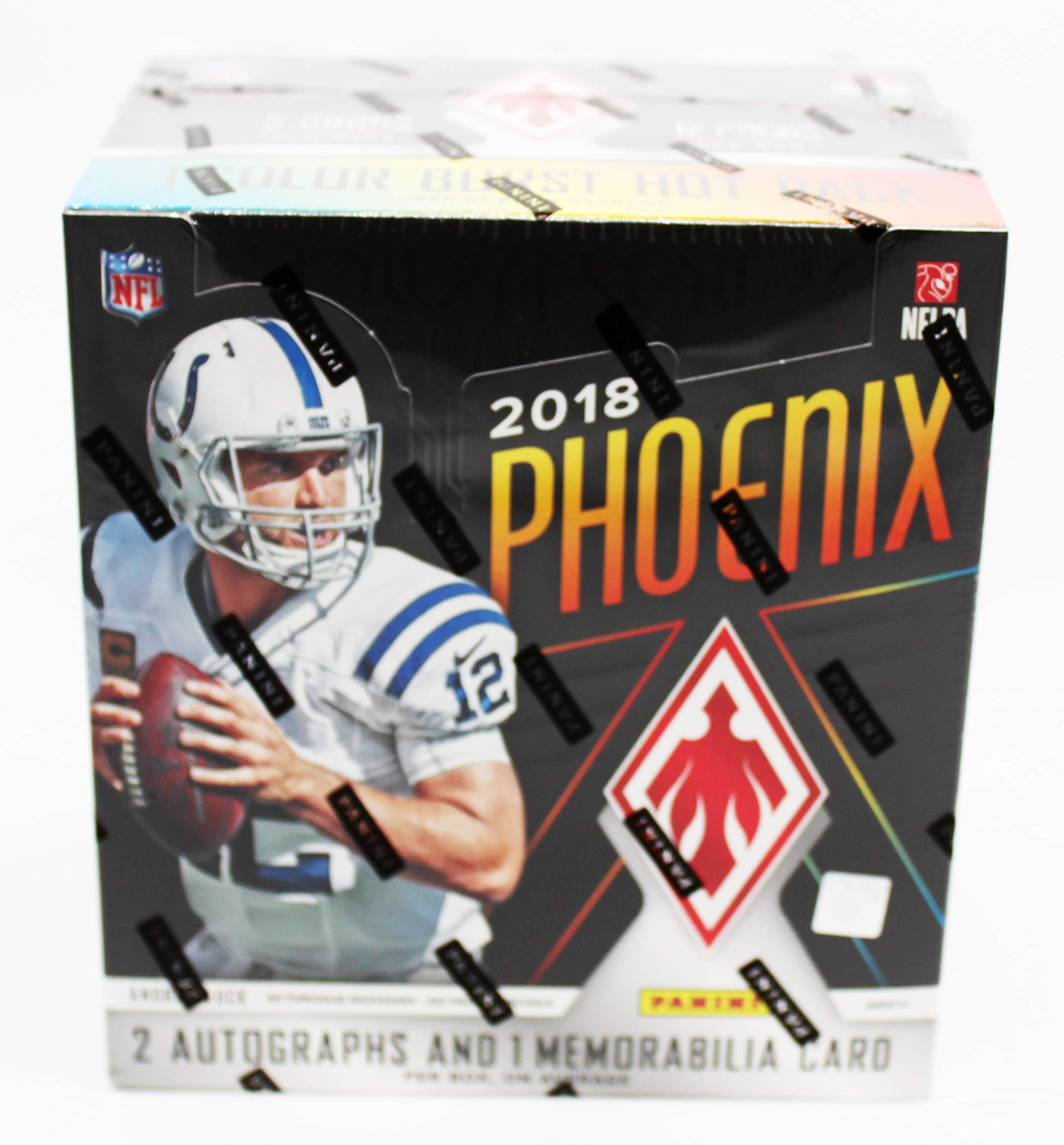 2018 Panini Phoenix NFL Football Factory Sealed Hobby Box