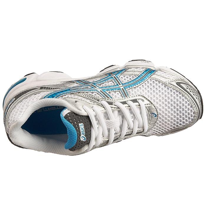 8b9631a0d79 Asics Women's Gel-Stratus 3 Running Shoe Lightning/Brilliant Blue/Charcoal  T9A6N9346 8 UK: Amazon.co.uk: Shoes & Bags