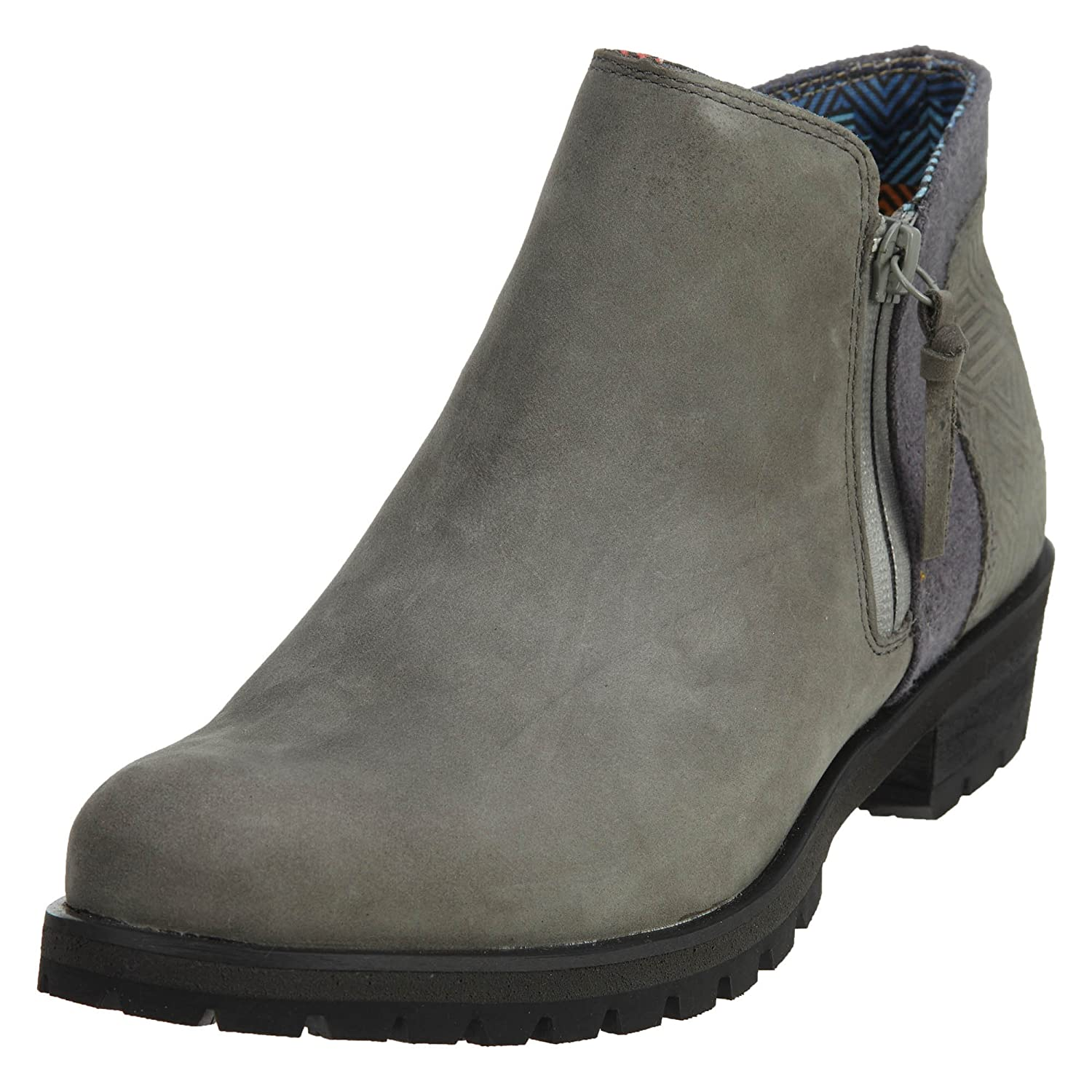 The North Face Womens Bridgeton Bootie Zip B01N6IM5RW 10 B(M) US|Dark Gull Grey/Tnf Black (Prior Season)