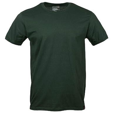 4e3317af Gold Toe Men's Crew Neck T-Shirt, Large, Forest Green
