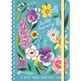 """Katie Daisy 2021 On-the-Go Weekly Planner: 17-Month Calendar with Pocket (Aug 2020 - Dec 2021, 5"""" x 7"""" closed): Hello Beauty"""
