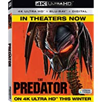 PREDATOR (2018) (Bilingual) [4K Blu-ray + Digital Copy]
