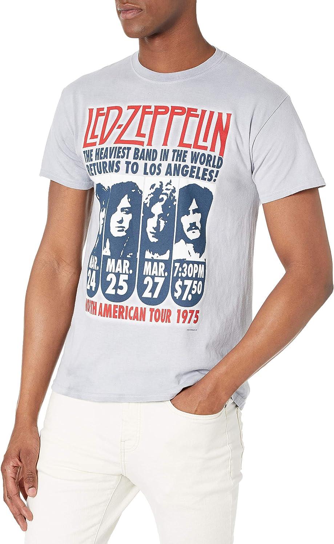 Liquid Blue Men's Led Zeppelin Hermit Short Sleeve T-Shirt
