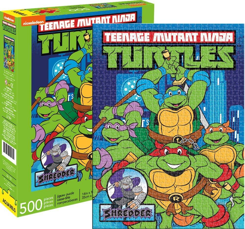 TMNT-NY 500pc Puzzle