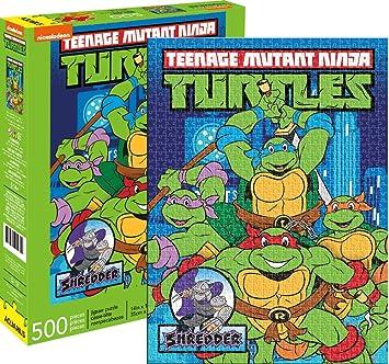 Teenage Mutant Ninja Turtles Puzzle NY 500 Piezas Nuevo ...