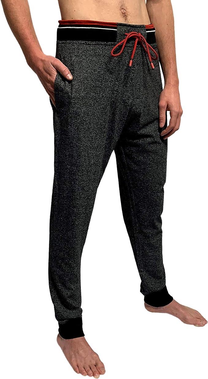 Mens PYJAMAS  BOTTOMS Jogging Style cuffed bottom nightwear LOUNGE PJ