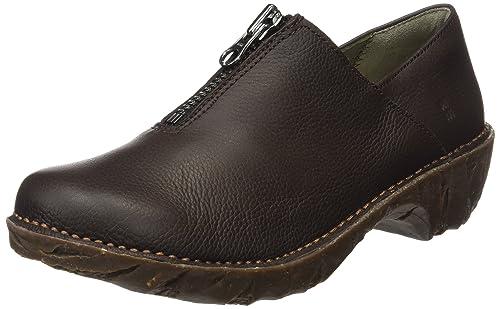 El Naturalista Ng52 Soft Grain Yggdrasil, Botas Mocasines para Mujer: Amazon.es: Zapatos y complementos