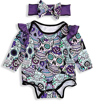 NEW Baby Girls Outfit 3-6 Months White Green Purple Flowers Bodysuit Romper