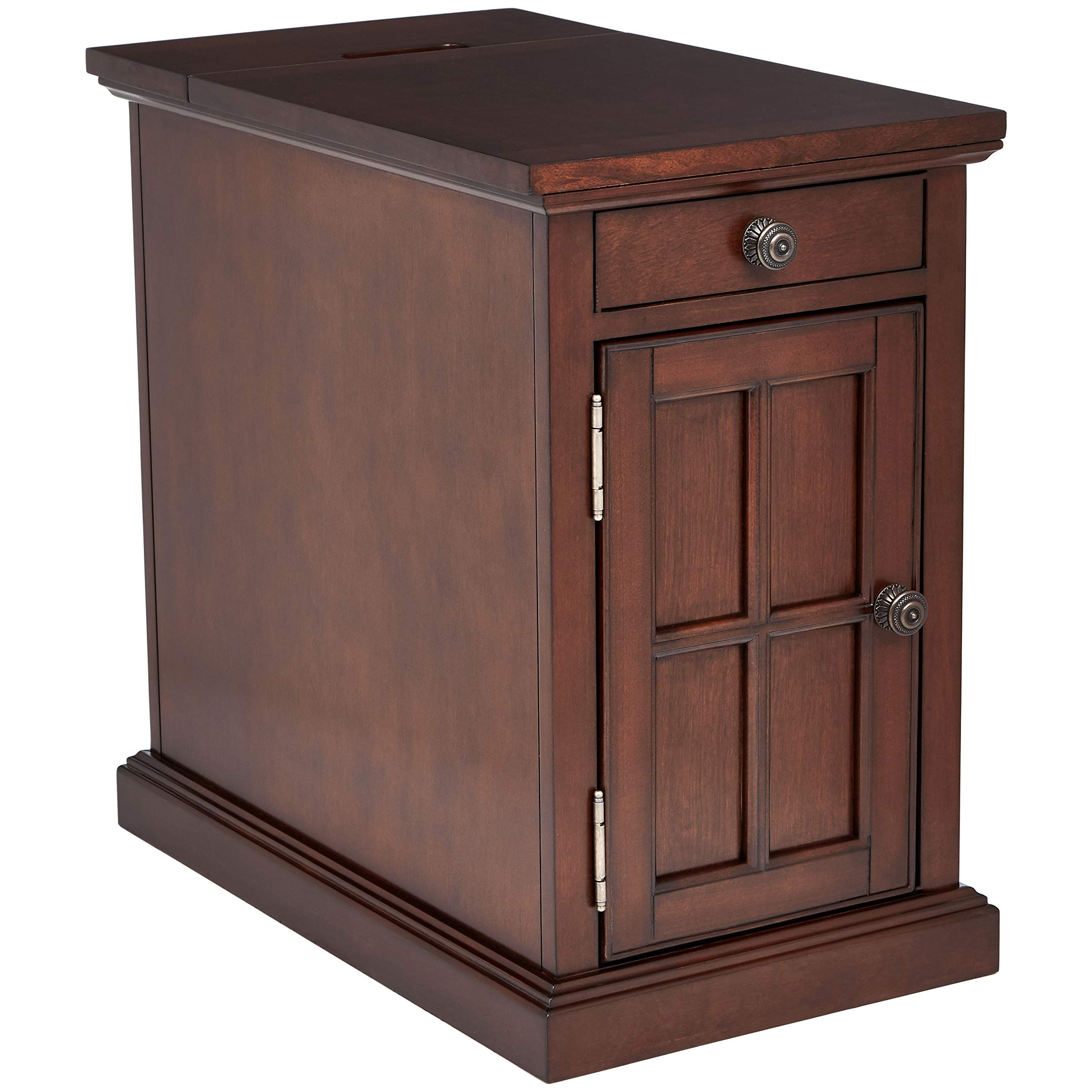 Ball & Cast End Table - Dark Brown by Ball & Cast
