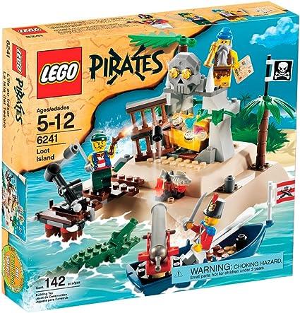Amazon Com Lego Pirates Loot Island Toys Games