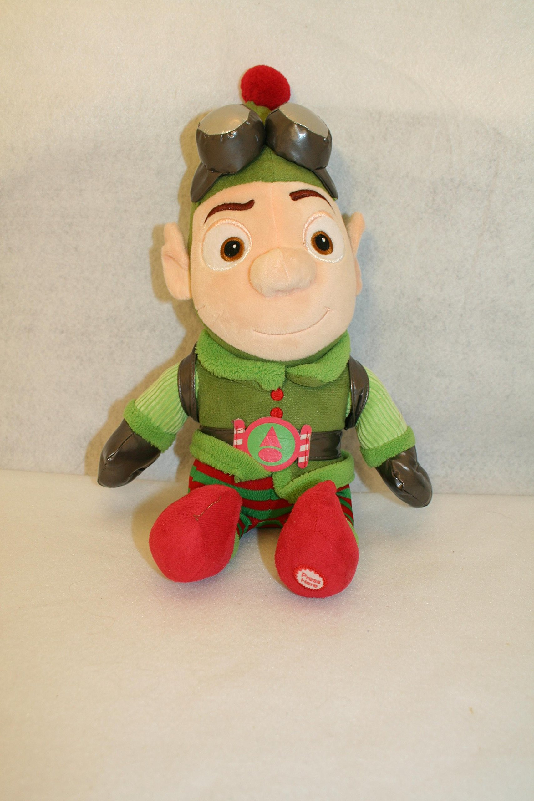 Hallmark Disney's Prep & Landing Wayne the Elf Feature's Sound