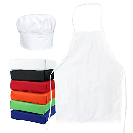 Pretend Play Cartoon Cute Children Apron Sleeves Fashion Chef Hat Pocket Set Kids Craft Art Kitchen Cooking Chef Suit Drink Food Baking Toys To Enjoy High Reputation In The International Market Toys & Hobbies