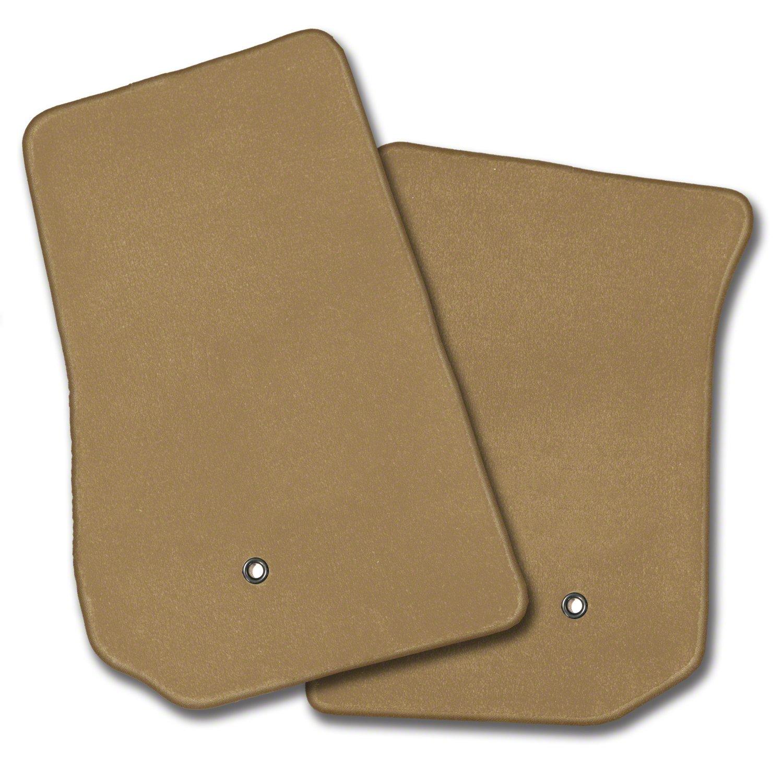 Nylon Carpet Coverking Custom Fit Front Floor Mats for Select Jeep Compass Models Black