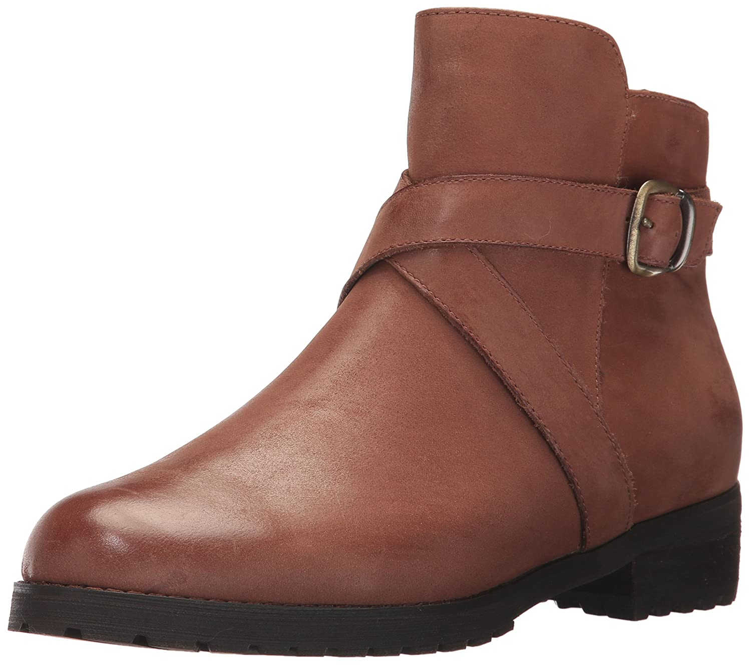 Blondo Women's Varta Waterproof Ankle Bootie B071P1BYH8 9 B(M) US|Cognac