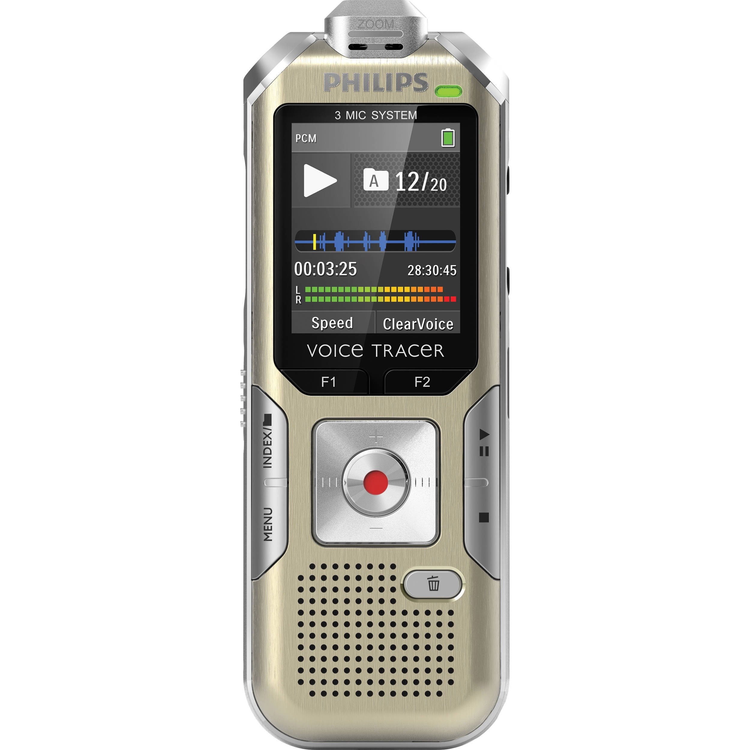 Philips 6500 Digital Recorder 3 Mic Recording (6500) by 6COU