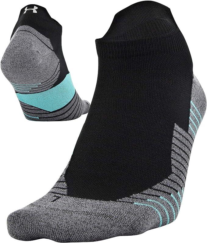 Under Armour Unisex Run 2.0 No Show Tab Socks 2-pair Socks pack of 2
