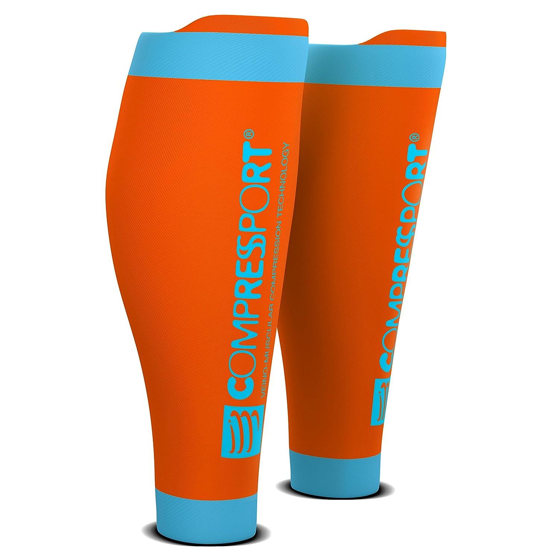 Compressport Pro R2 Swiss Calfs Sleeves Kompression Waden Socken Stulpen